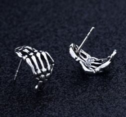Radiologist/ Rad Tech- Skeleton Hand Earrings T1