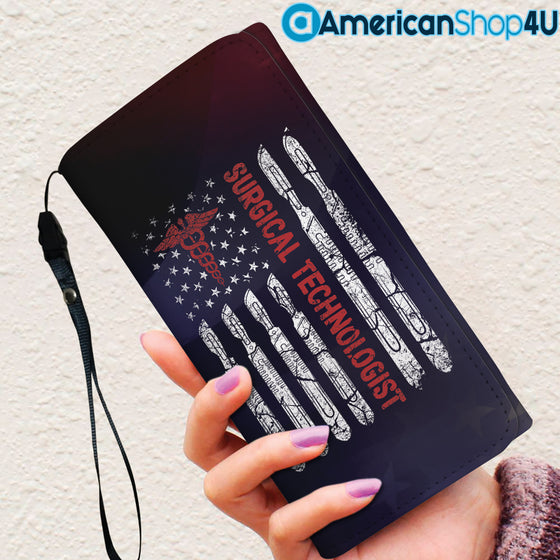 Surgical Technologist- Women's Wallet- Flag