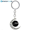 Trombone Moon key chain
