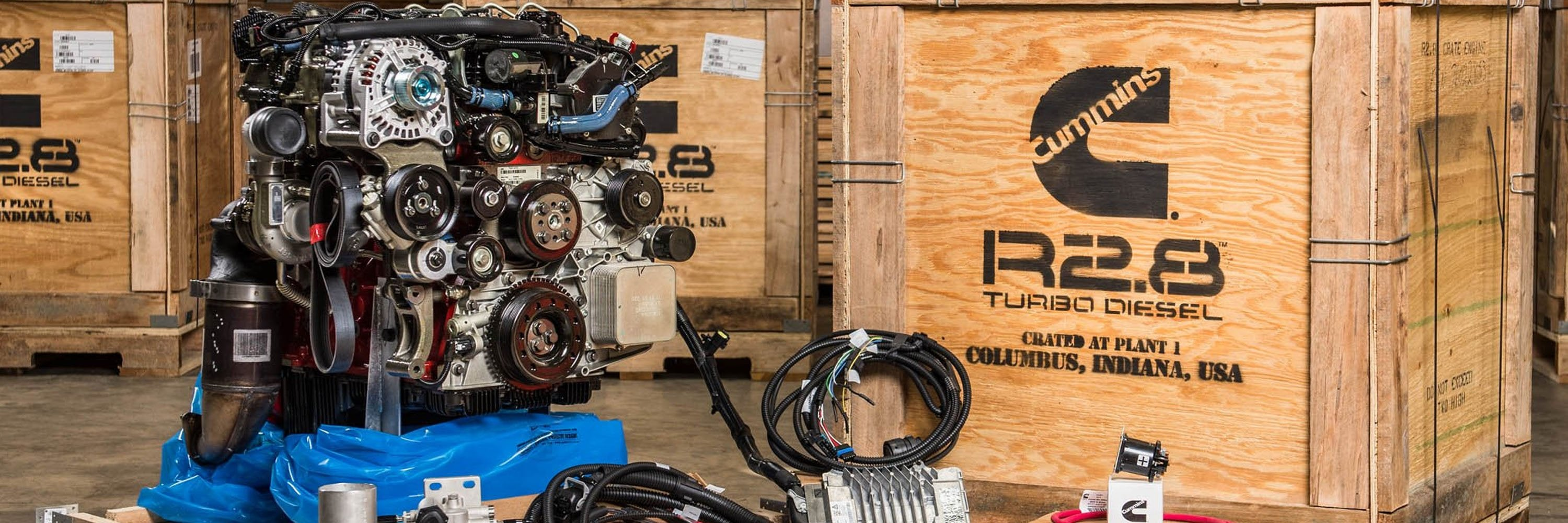 Cummins R.28 Crate Engines