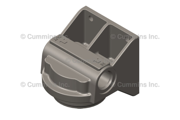 Cummins Lubricating Oil Filter Head - 3406949