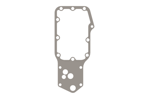 Cummins Oil Cooler Core Gasket - 4932124