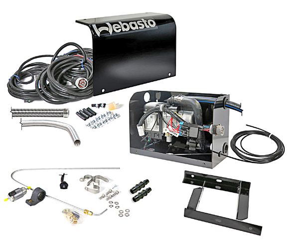 Webasto Thermo Top Evo Diesel Kit with Enclosure 12V - 5013389A