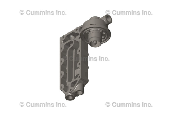 Cummins Lubricating Oil Filter Head - 5450366