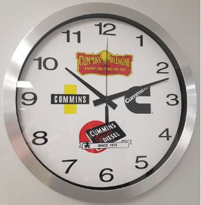 "14"" Cummins Wall Clock"