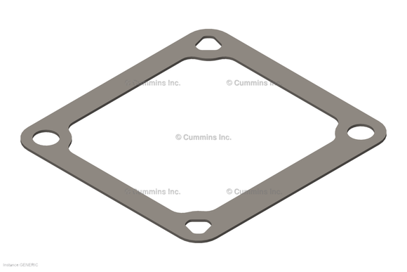 Cummins Connection Gasket - 3969988