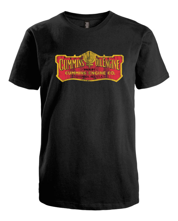 Cummins Vintage Oil Engine T-Shirt