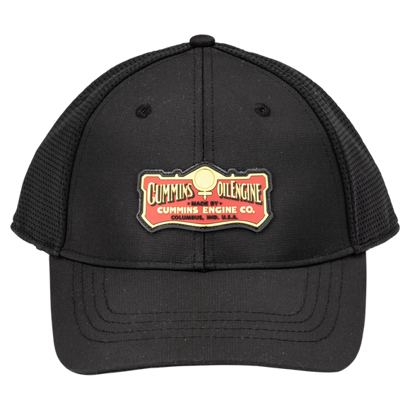 Tech Mesh Fitted Cummins Hat-Black