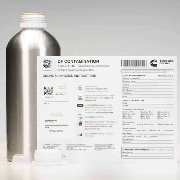 Diesel Fuel Analysis Contamination - DFCNP-ShopCummins.ca