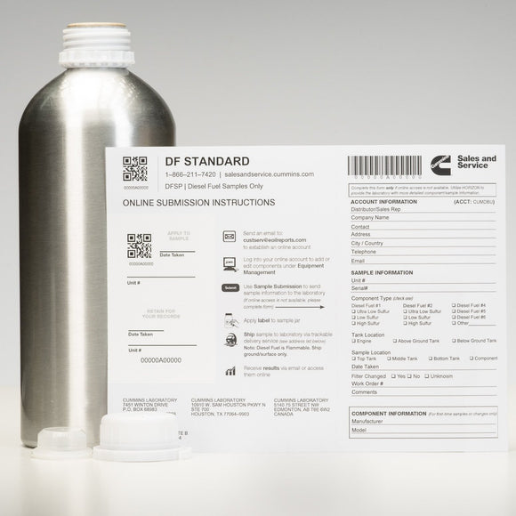 Diesel Fuel Analysis Standard - DFSP-ShopCummins.ca