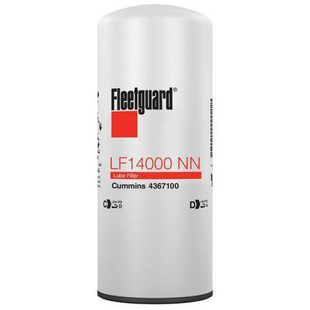 Fleetguard Cummins X15 NanoNet Lube Filter - LF14000NN-ShopCummins.ca