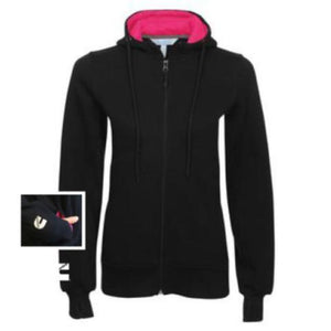 Ladies Fleece Zip Hoody-ShopCummins.ca