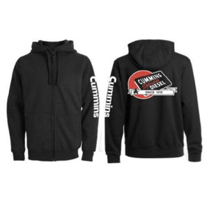 Men's Hooded Full Zip Heavy Fleece-ShopCummins.ca