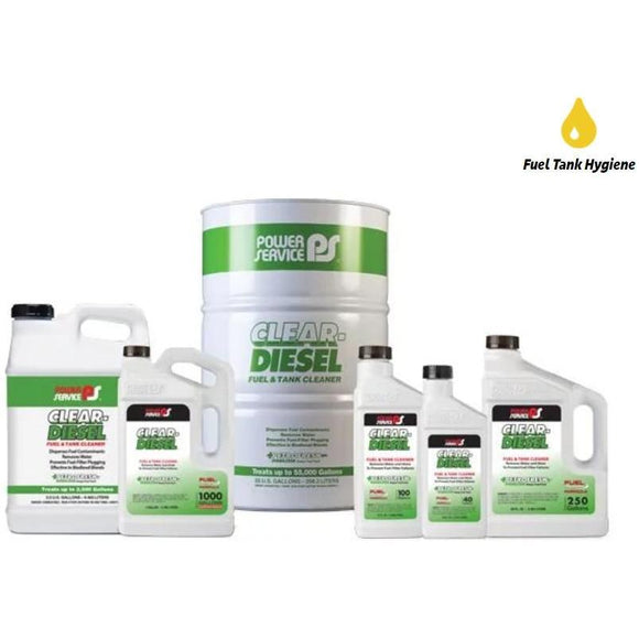 Power Service Clear-Diesel Fuel & Tank Cleaner
