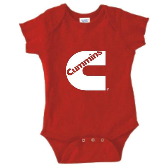 Rabbit Skins Red Baby Onesie-ShopCummins.ca