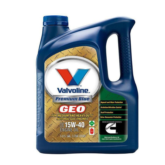 Valvoline Premium Blue GEO M-85 Natural Gas 15W40 1 Gal - 875539-ShopCummins.ca