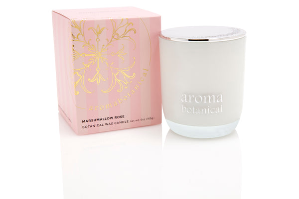 Marshmallow Rose 165g Candle