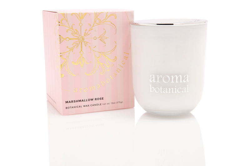 Marshmallow Rose 390g Candle