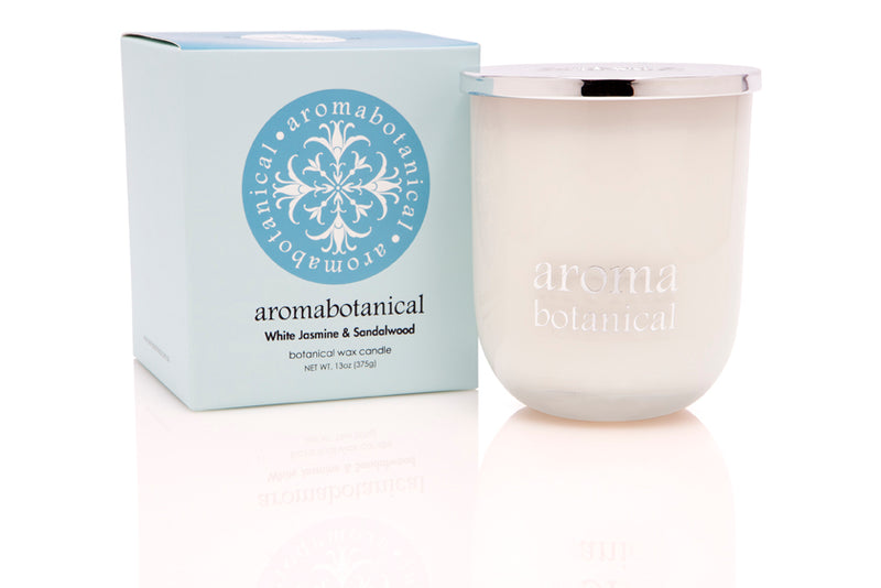 White Jasmine & Sandalwood 375g Candle