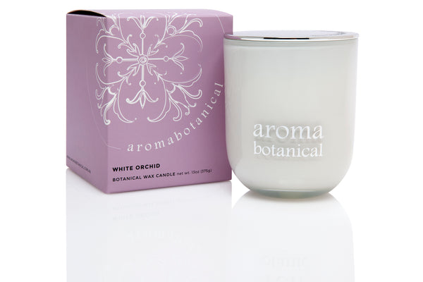 White Orchid 375g Candle