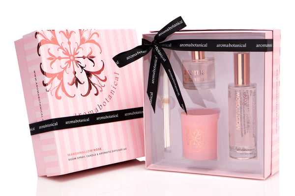 Marshmallow Rose Deluxe Gift Set