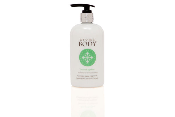 Guava & Lychee 500ml Hand & Body Lotion