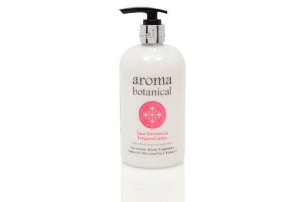 Rose, Gardenia & Bergamot Spice Hand & Body Lotion