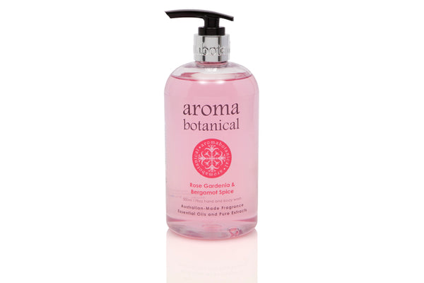 Rose, Gardenia & Bergamot 500ml Hand & Body Wash