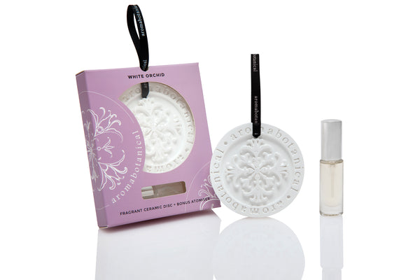 White Orchid Fragrant Disc