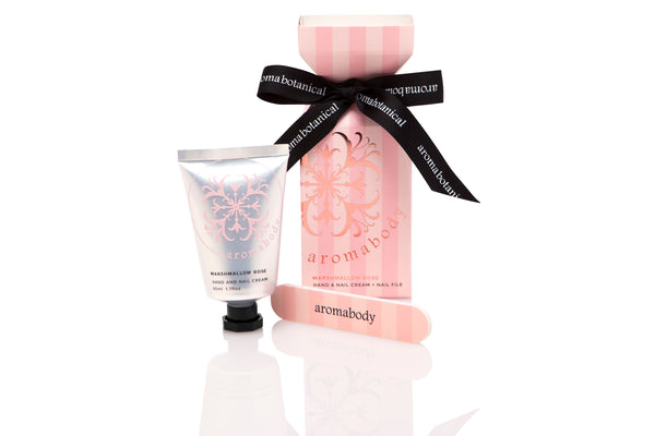 Marshmallow Rose 50ml Hand Cream and Nail File