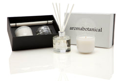 Coconut Lime Diffuser and Candle Gift Set