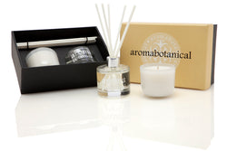 Vanilla Crème Diffuser and Candle Gift Set