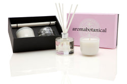 Pink Freesia & Rose Diffuser and Candle Gift Set