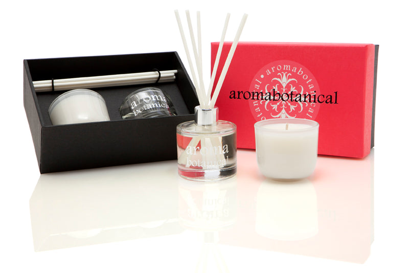 Rose Gardenia & Bergamot Spice Diffuser and Candle Gift Set