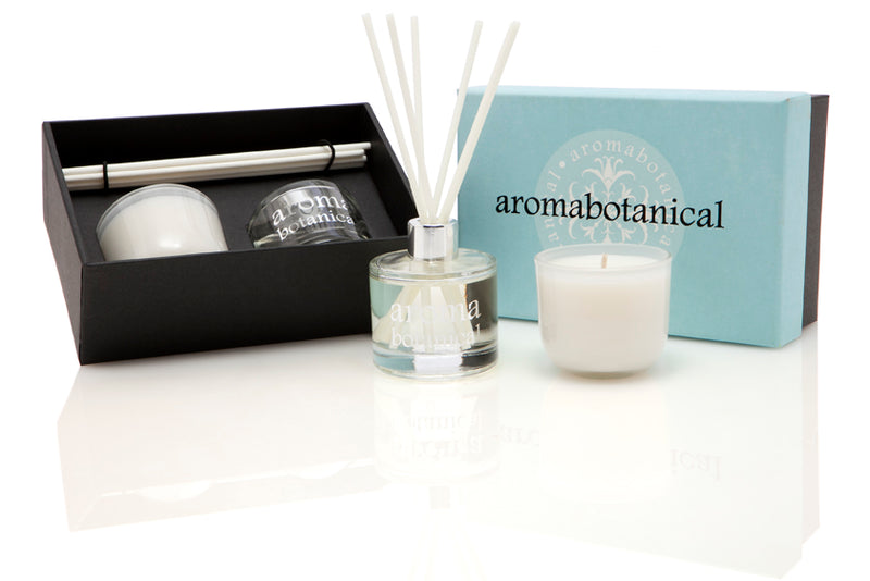 White Jasmine & Sandalwood Diffuser and Candle Gift Set