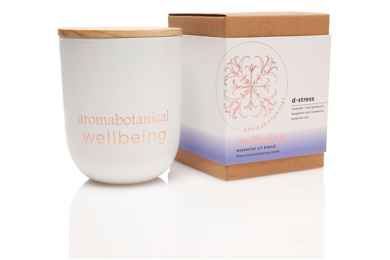 D-Stress Aromatherapy 375g Candle