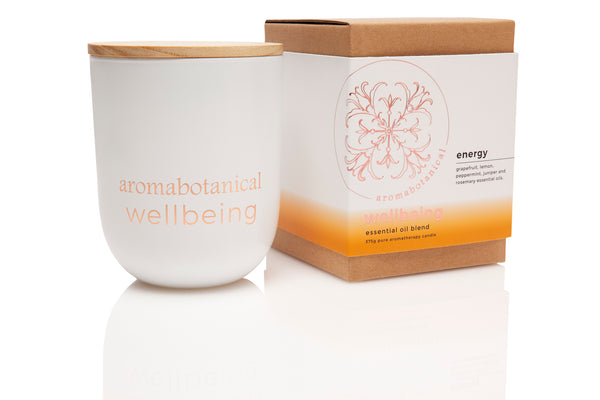 Energy Aromatherapy 375g Candle