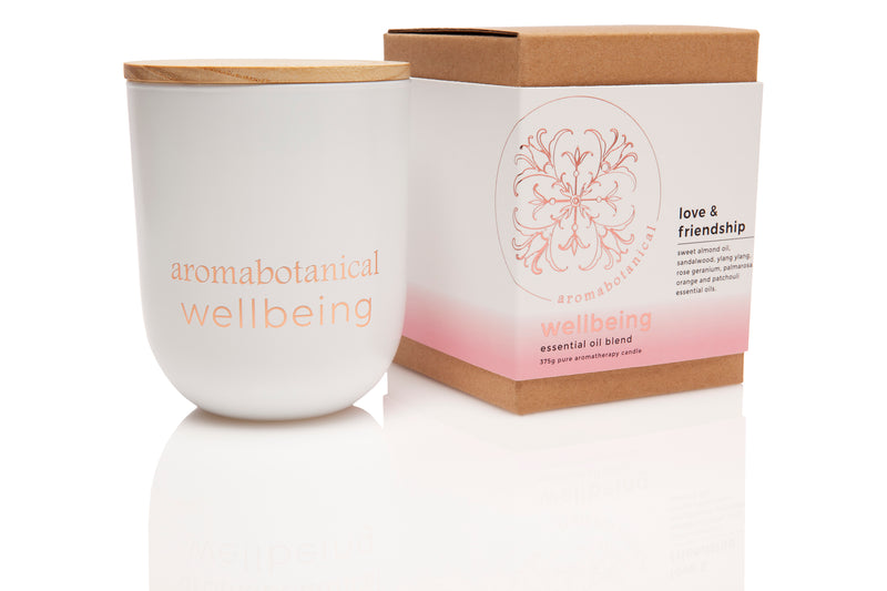 Love & Friendship Aromatherapy 375g Candle