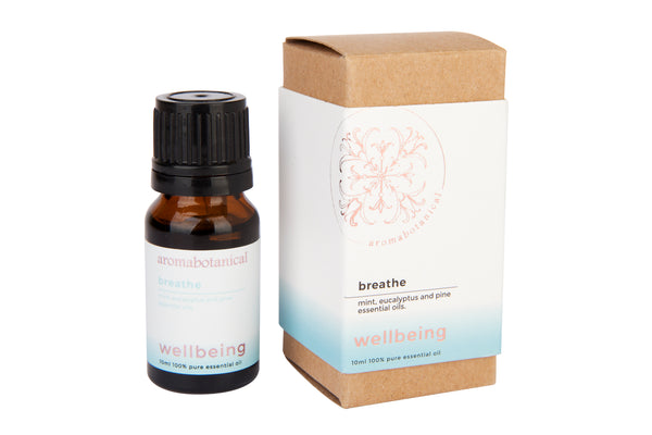Breathe 10ml Essential Oil Dropper