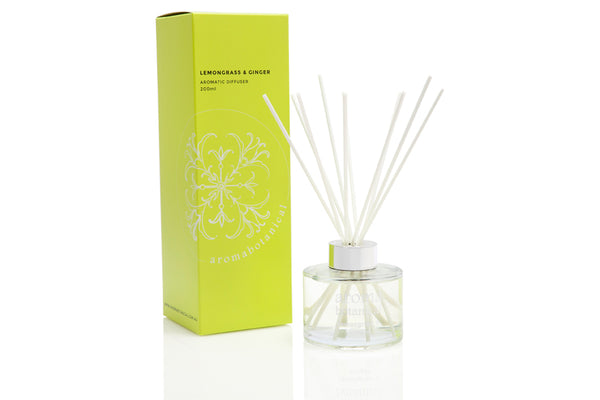 Lemongrass & Ginger 200ml Reed Diffuser