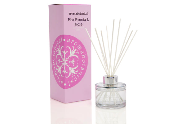 Pink Freesia & Rose 200ml Reed Diffuser