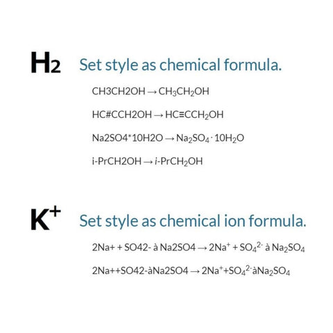 Format chemical equations instantly with ChemFormatter