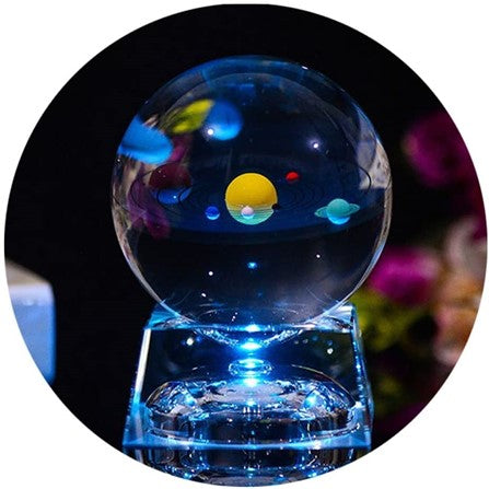 3D-Crystal-Ball-with-Solar-System-Model