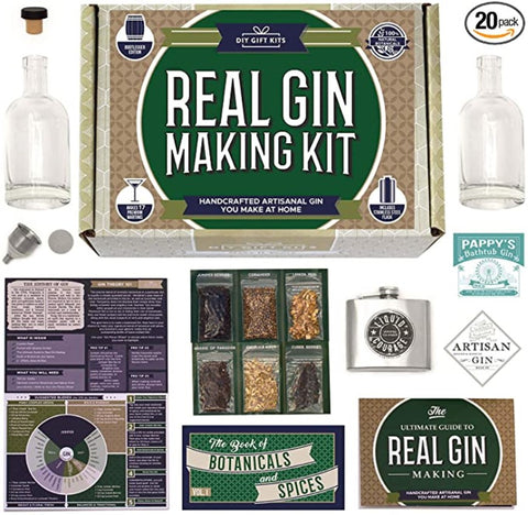 DIY gin making kit on Amazon