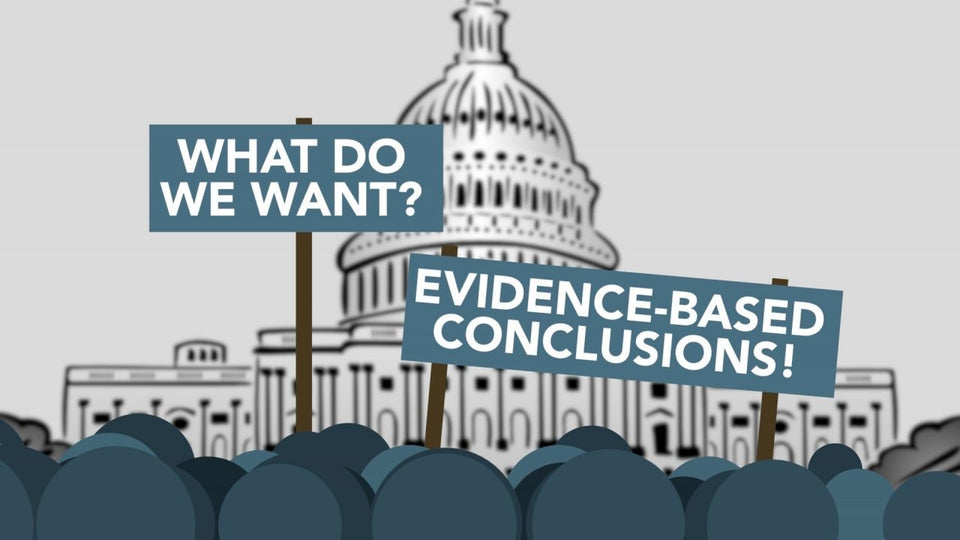 evidence-based conclusions in government