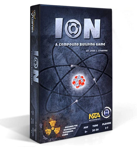 Ion chemistry card game
