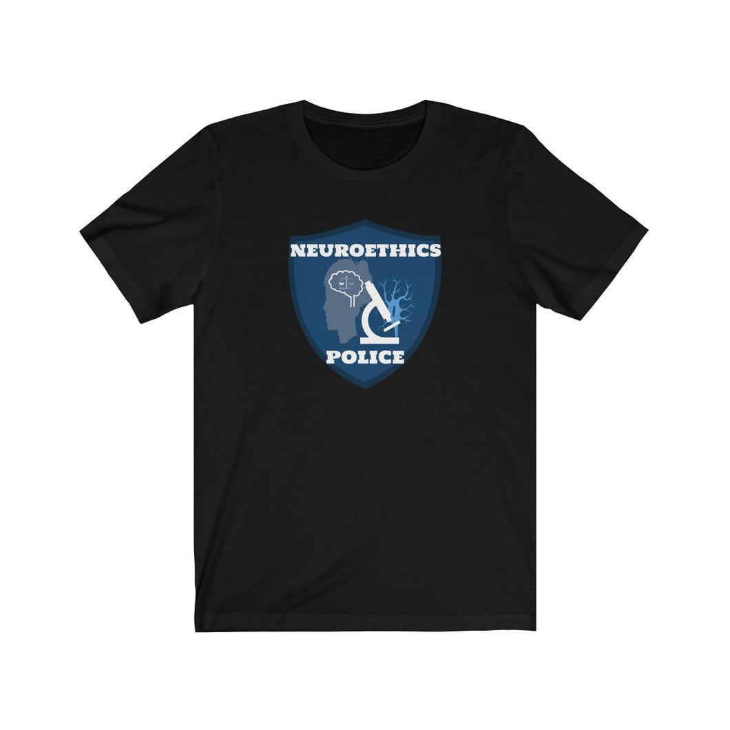 Neuroethics Police Podcast Logo Tee Shirt