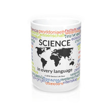 Science in every language coffee mug