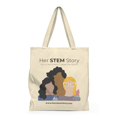 Her STEM Story - Roomy Shoulder Tote Bag 2