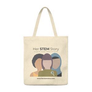 Her STEM Story - Roomy Shoulder Tote Bag 1